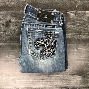 Miss Me Jeans bling bootcut Jeans